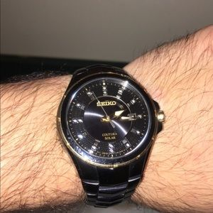 Men's Watch - Seiko Coutura SNE506
